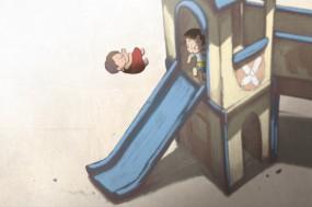 Taekwon Boy's Gloomyday