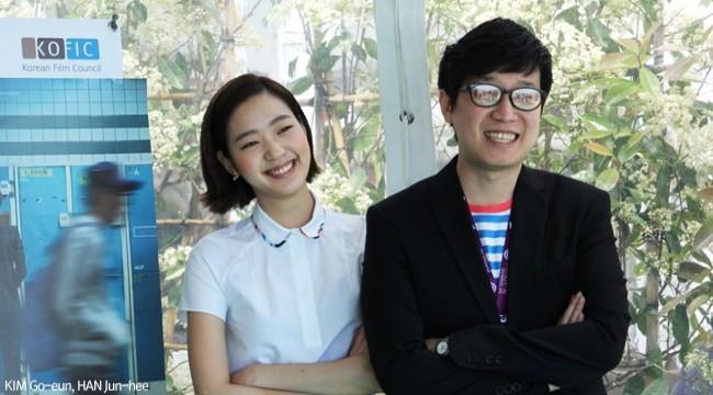 Interview Director HAN Jun-hee and Actress KIM Go-eun of COIN LOCKER GIRL
