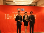 Actor AHN Sung-Ki, Actress KIM Hye-Soo and Director JK YOUN picked up APN Prizes