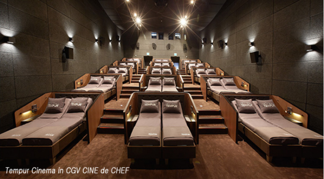 New Cinema Experiences are Available at CGV CINE de CHEF