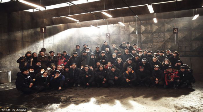 JUNG Woo-sung and HWANG Jung-min Wrap ASURA
