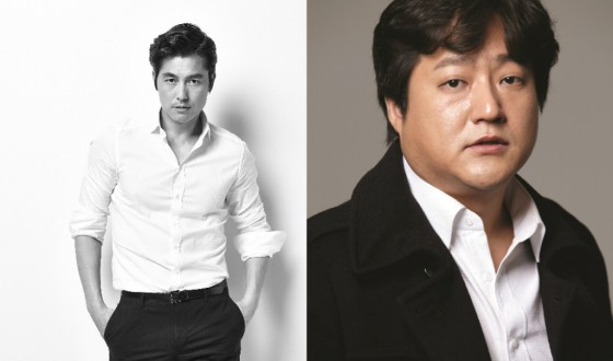 JUNG Woo-sung & KWAK Do-won Back Together for STEEL RAIN
