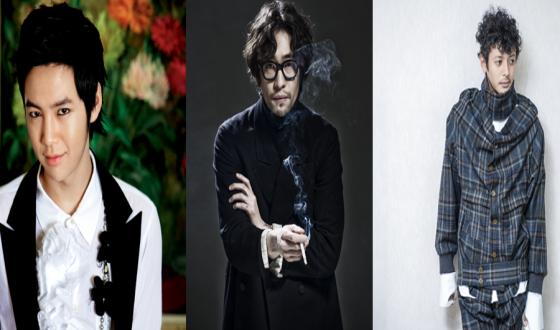 JANG Keun-suk, RYOO Seung-bum and Joe Odagiri in THE TIME OF HUMANS