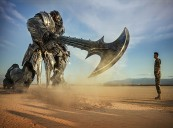 TRANSFORMERS: THE LAST KNIGHT Rides into First Place