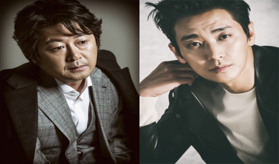 KIM Yun-seok and JU Ji-hoon Face Off in MURDER OF MAN OR WOMAN