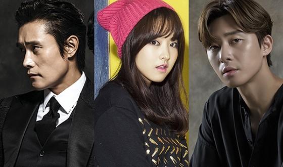 LEE Byung-hun, PARK Seo-jun and PARK Bo-young Move into CONCRETE UTOPIA