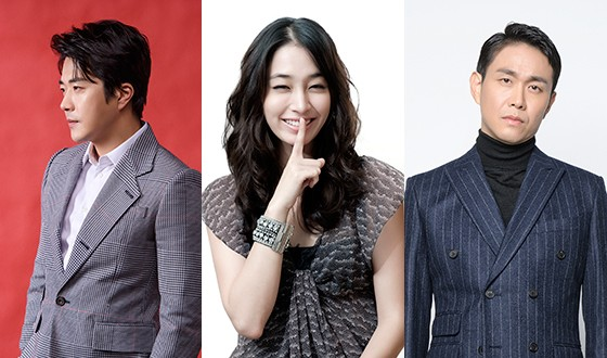 KWON Sang-woo, OH Jung-se and LEE Min-jung Open CHRISTMAS PRESENT
