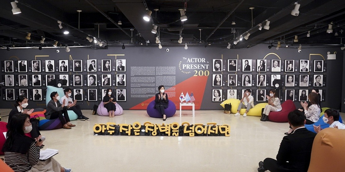 First Lady of South Korea & BTS, Visited KOREAN ACTORS 200, the Photo Exhibition in New York