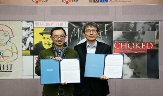 KAFA partners with CJ E&M and CJ CGV