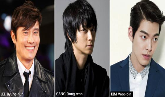 MASTER Lures LEE Byung-hun, GANG Dong-won, KIM Woo-bin