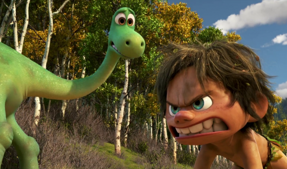THE GOOD DINOSAUR Charms Its Way to First Place
