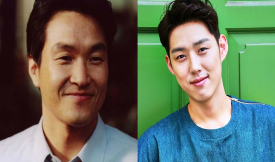 HAN Suk-kyu & BAEK Sung-hyun Play Father & Son in FATHER'S WAR
