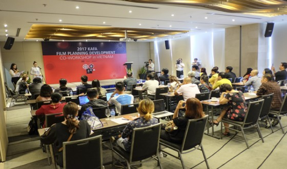 KAFA Holds Film Development Workshops in Ho Chi Minh City