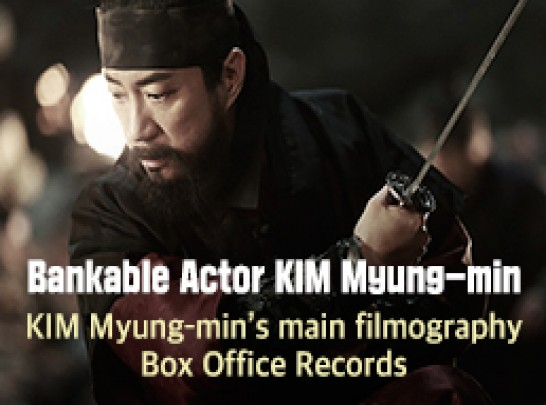 Bankable Actor KIM Myung-min