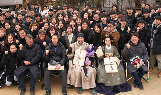 SONG Kang-ho and PARK Hae-il Wrap Period Drama