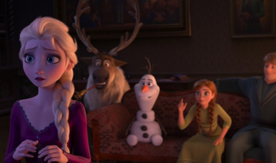 FROZEN 2 Snows in BRING ME HOME Debut